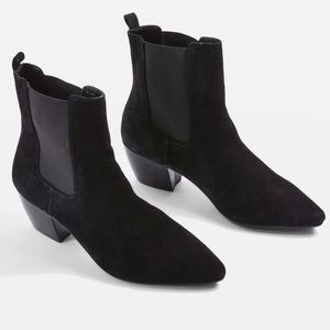 Bounty Suede Pointy Booties
